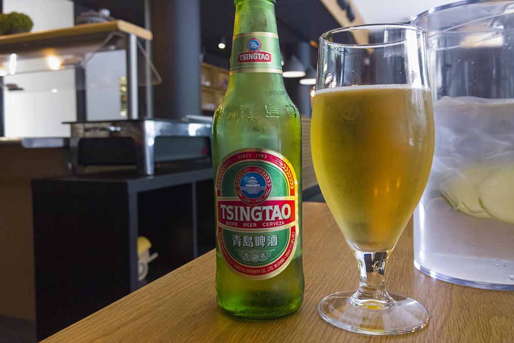 Yangtze Kiinalainen Ravintola, Turku: Kiinalaista olutta