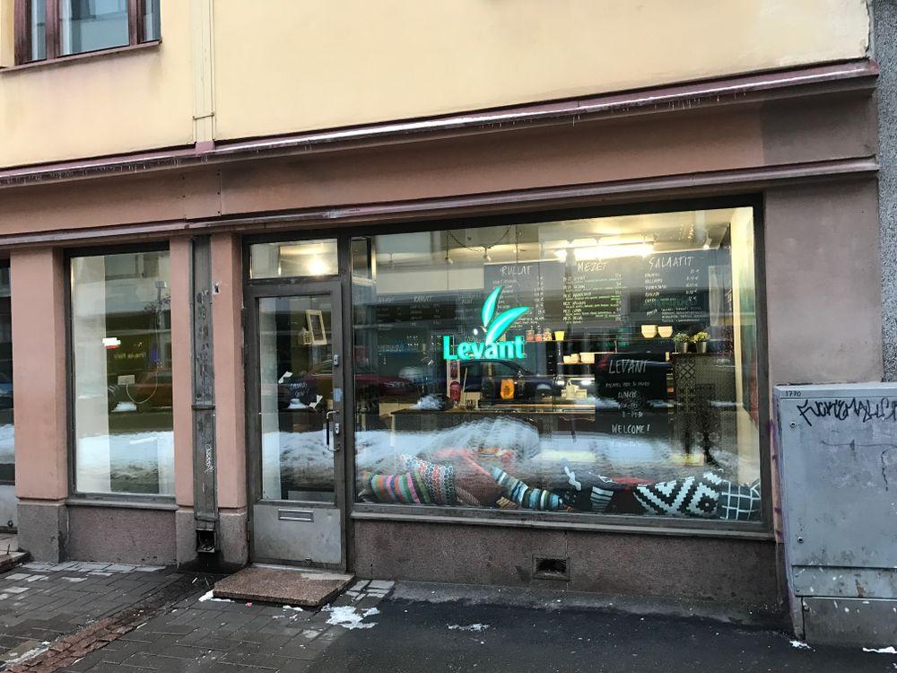 Levant Vaasankatu, Helsingfors