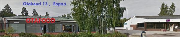 OTAFOOD, Espoo