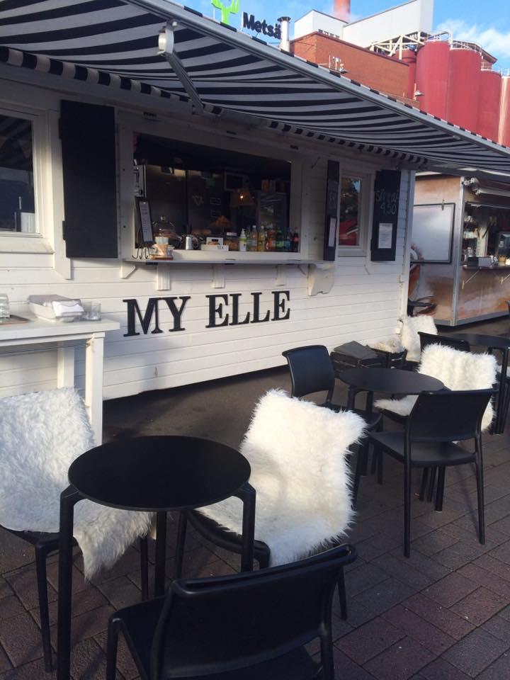 My Elle, Tampere: Terassi