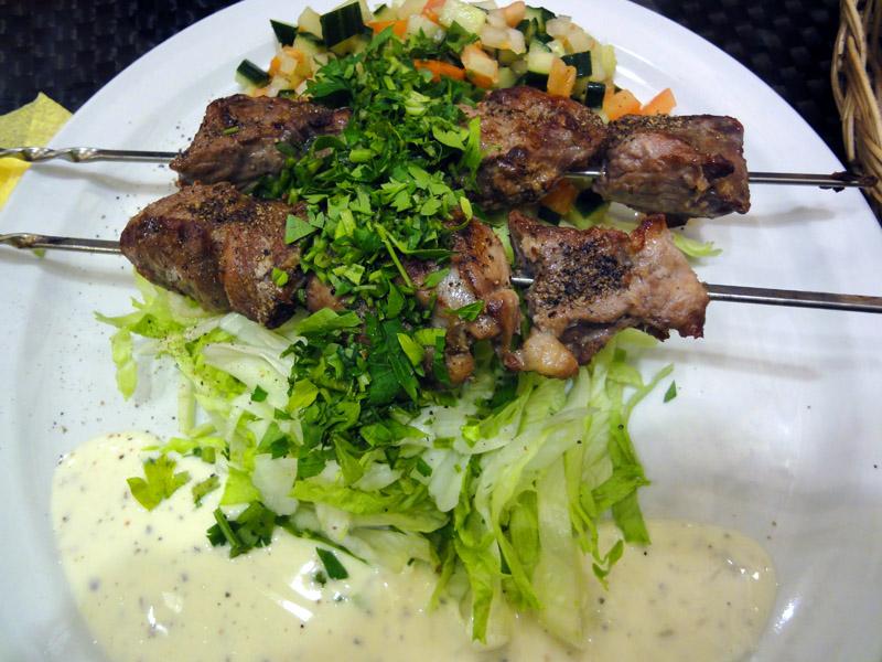 El Karim, Helsinki: Shish kebab lammasvartaat