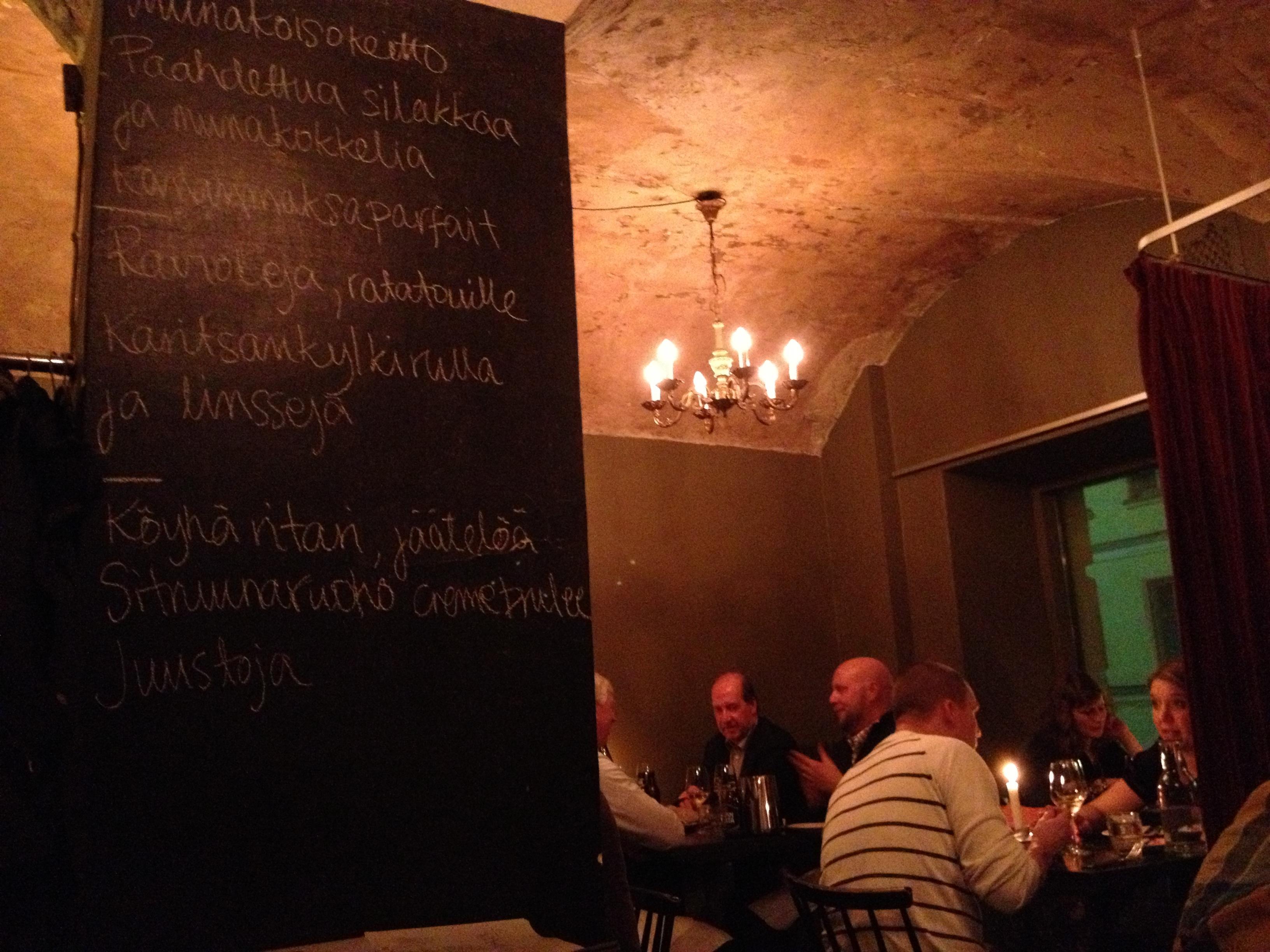 Kuurna, Helsinki: Ravintola Kuurna
