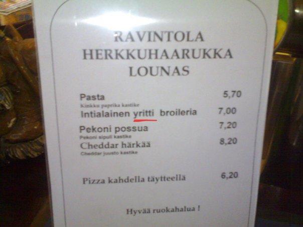 Herkkuhaarukka, Helsinki