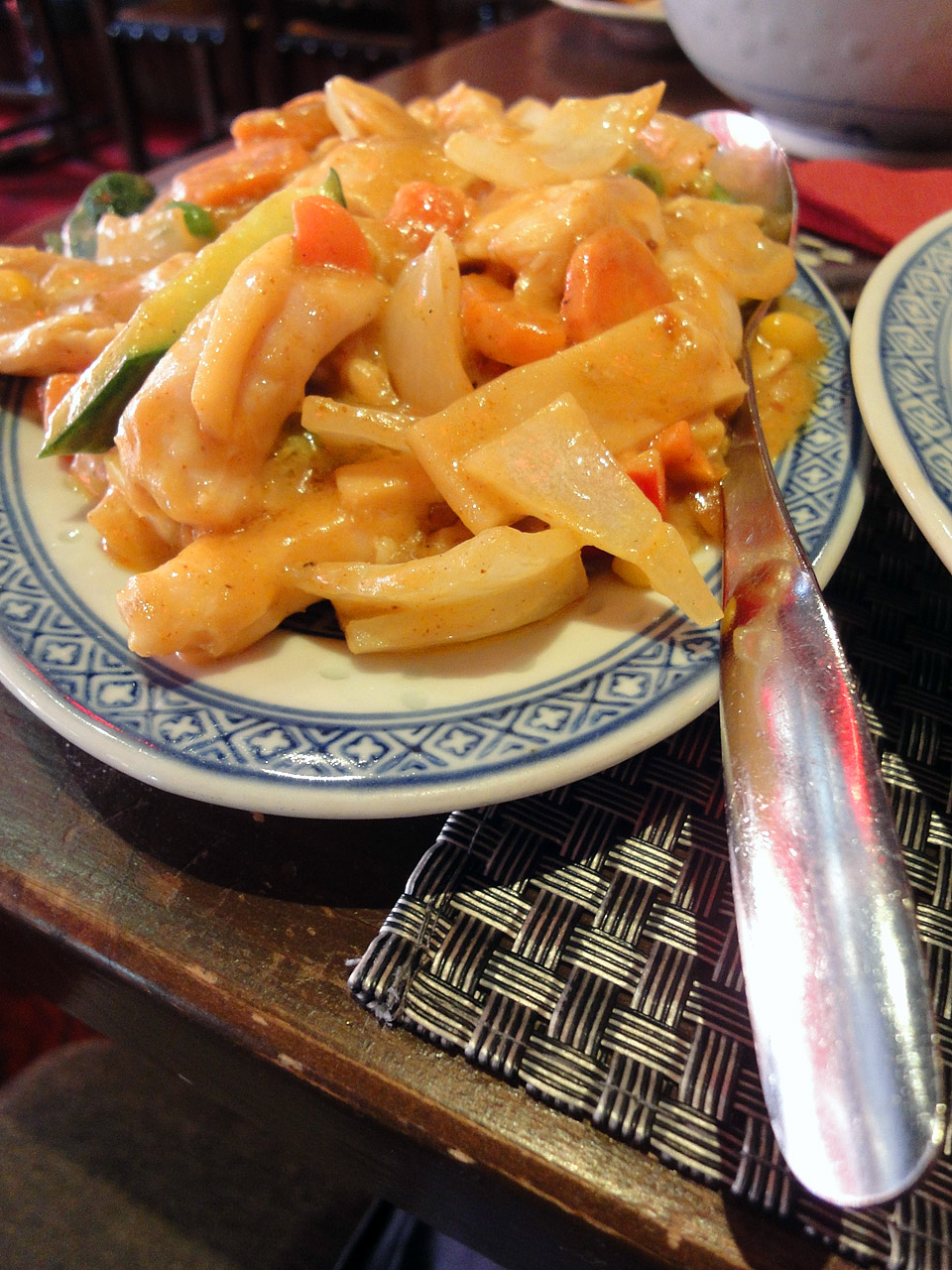 Ravintola Mr. Lau, Helsinki: Curry kanaa