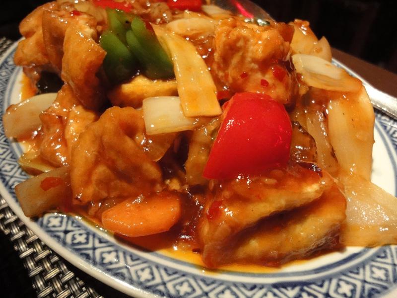 Ravintola Mr. Lau, Helsinki: Sichuanin tofua