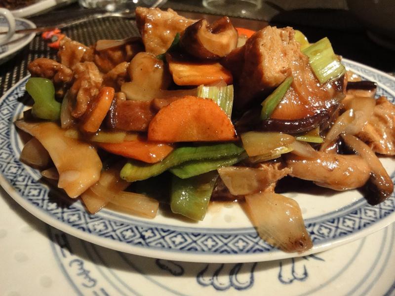Ravintola Mr. Lau, Helsinki: Tofua ja kiinalaisia sieniä