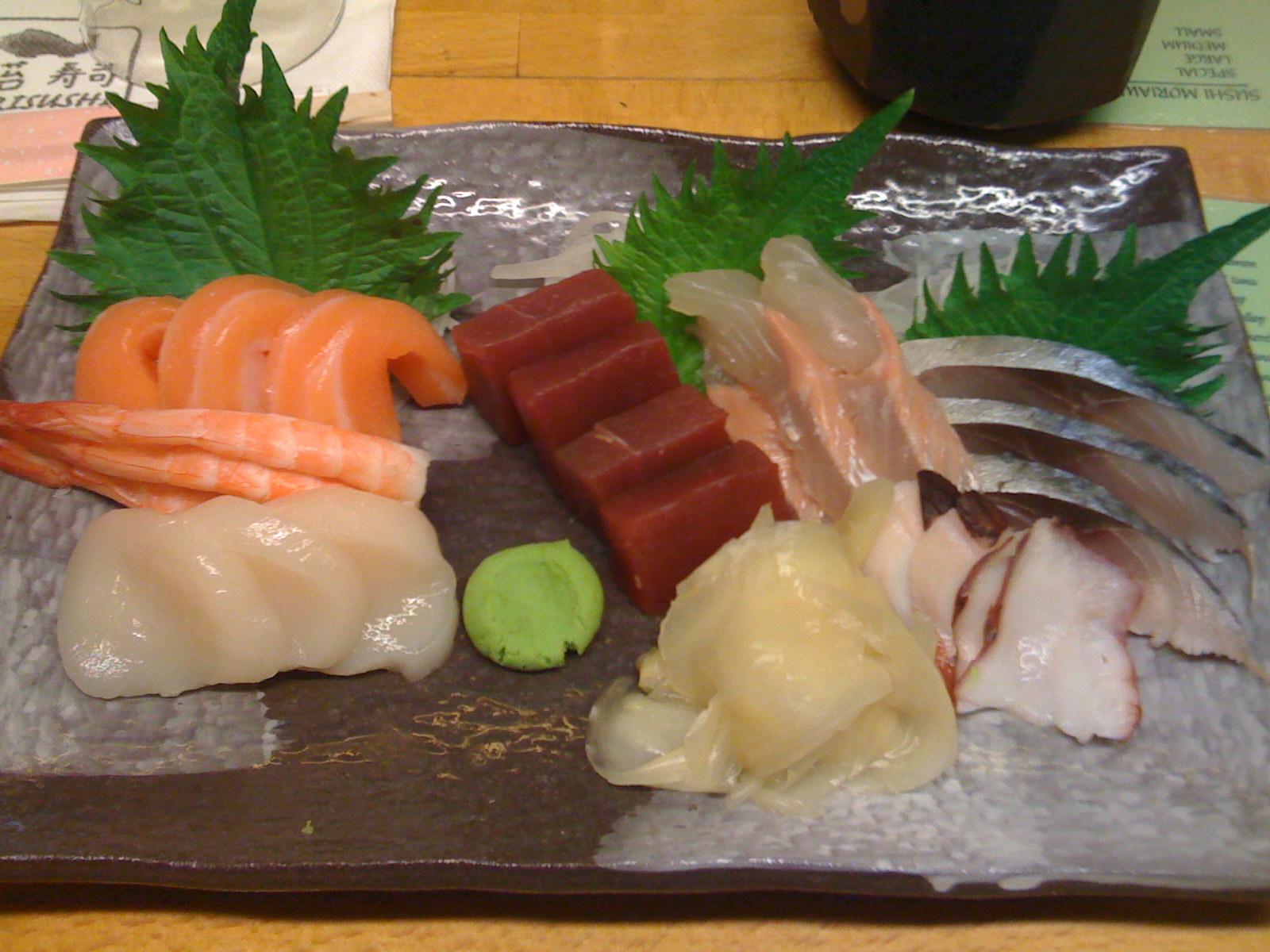 Norisushi bar, Helsinki: Sashimi