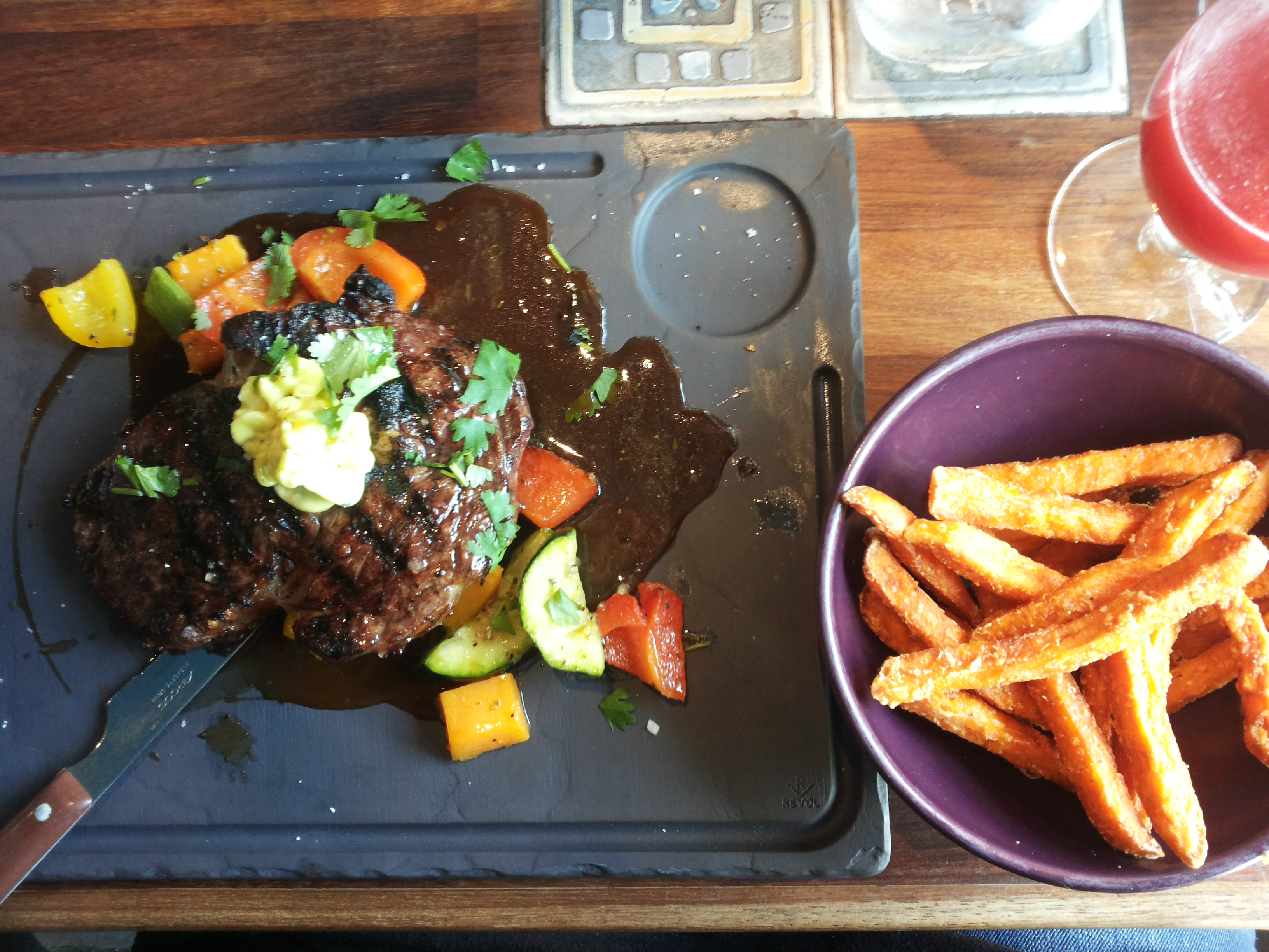 Maya Bar & Grill, Helsinki: asado ranchero