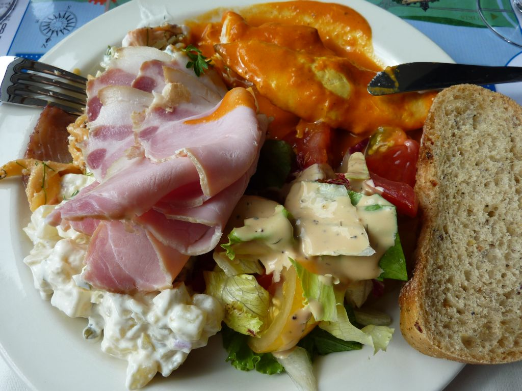 m/s Tampere, Tampere: Buffet ruokaa