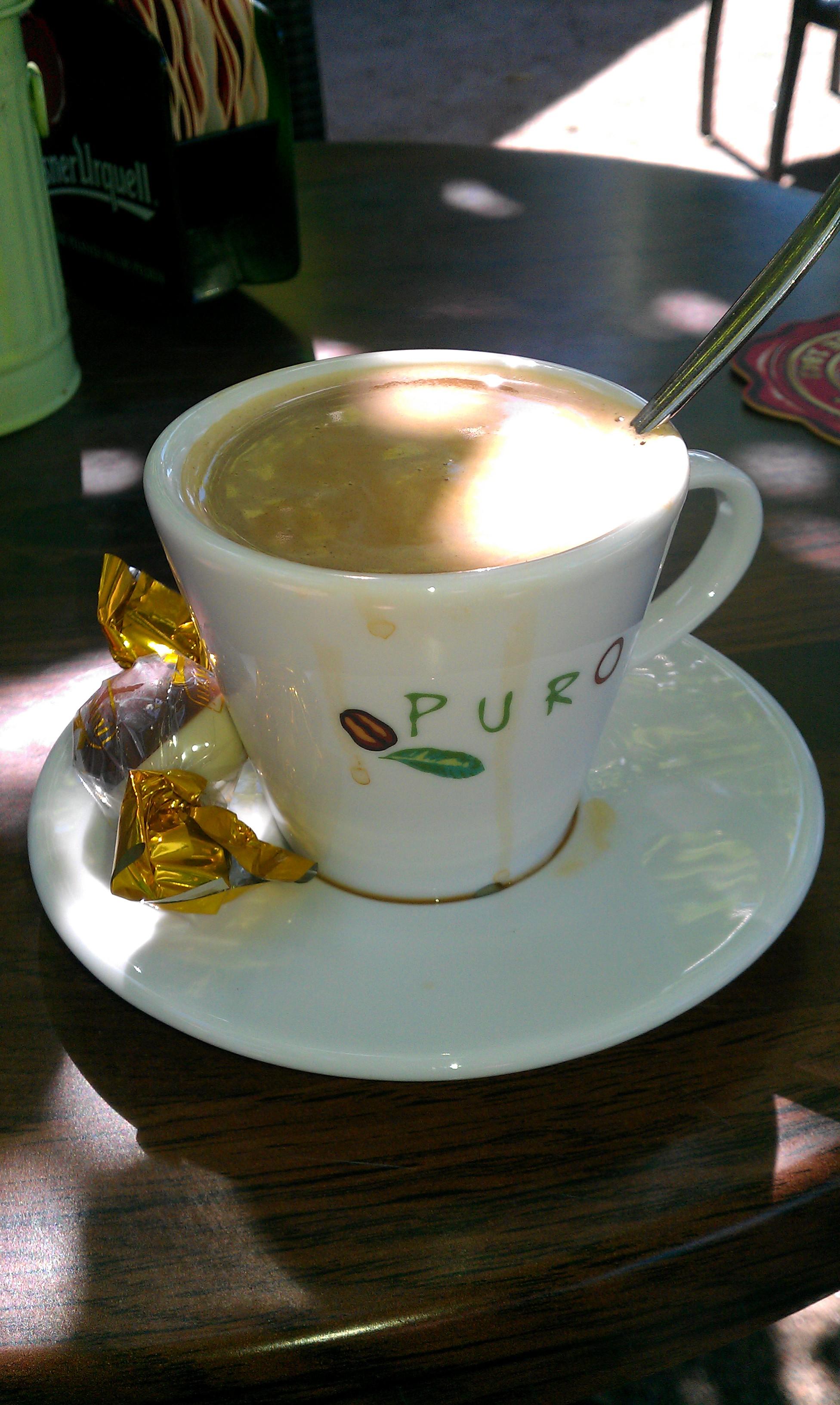 Ravintola Birgitta, Hämeenlinna: Puro kahvia
