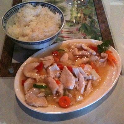 Dragon Sheng kiinalainen ravintola, Iisalmi: Ananas Kana