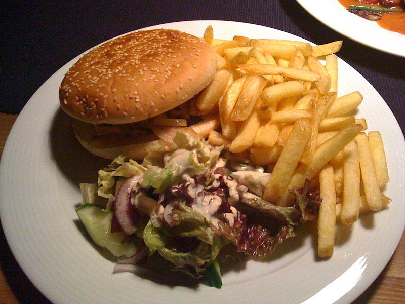 Ravintola Ilves, Helsinki: Talon burger