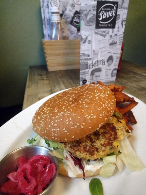 Sävel, Helsinki: Papu-chipotle -burgeri