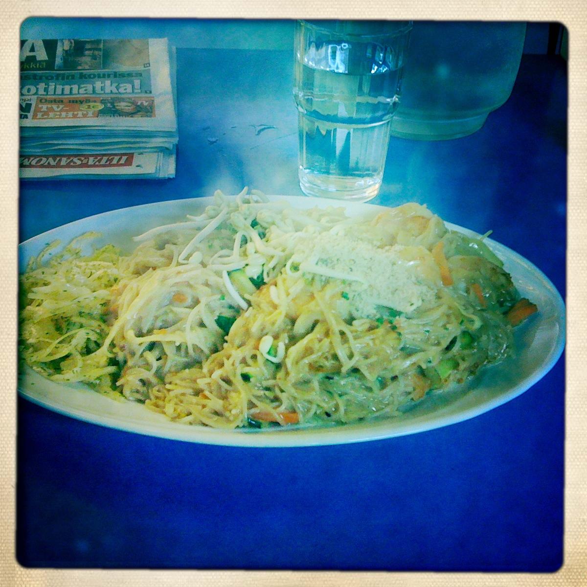 Thai Fast Food Du Dii (Dudii), Helsinki: Noodelit thaimaalaisittain.