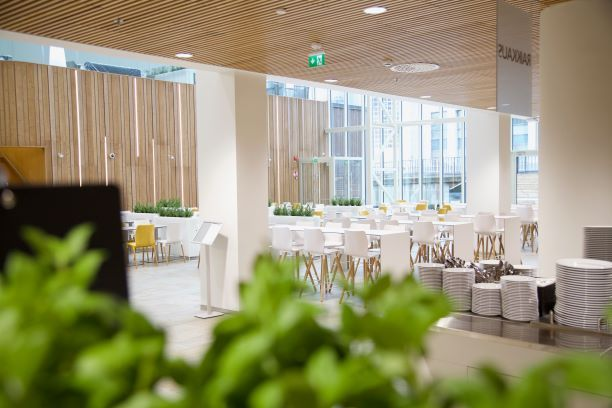 Ninan keittiö Pasila Fennian pääkonttori , Helsinki
