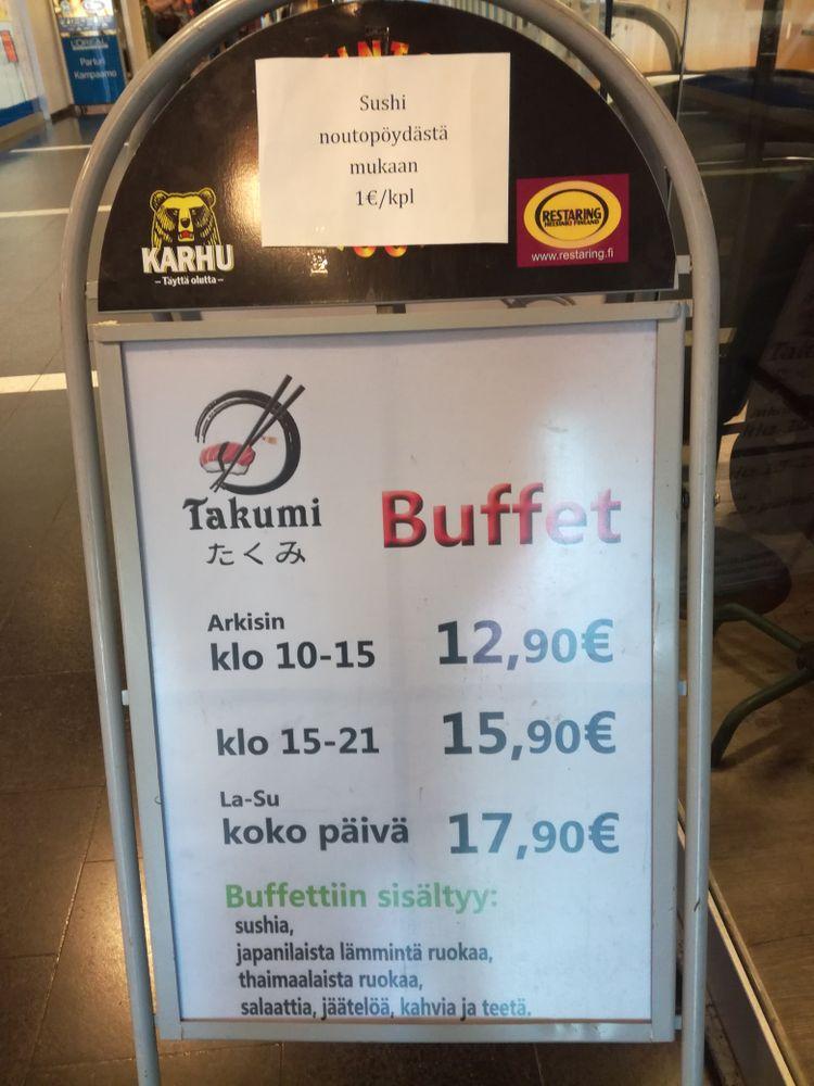 Takumi, Helsinki