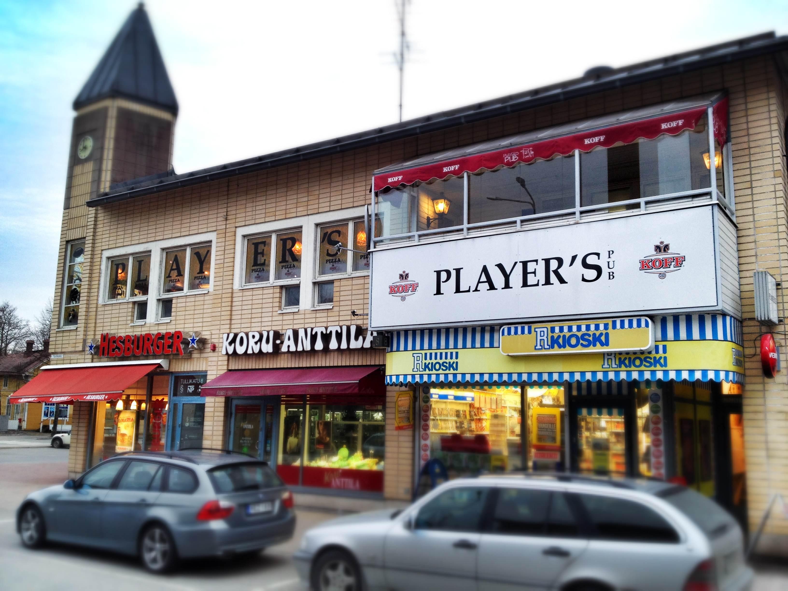 Player S Pub, Naantali