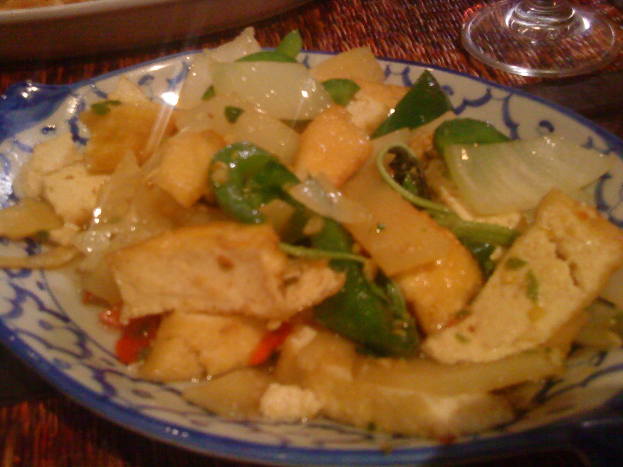 Lemon Grass, Helsinki: Tofua basilikalla ja chilillä