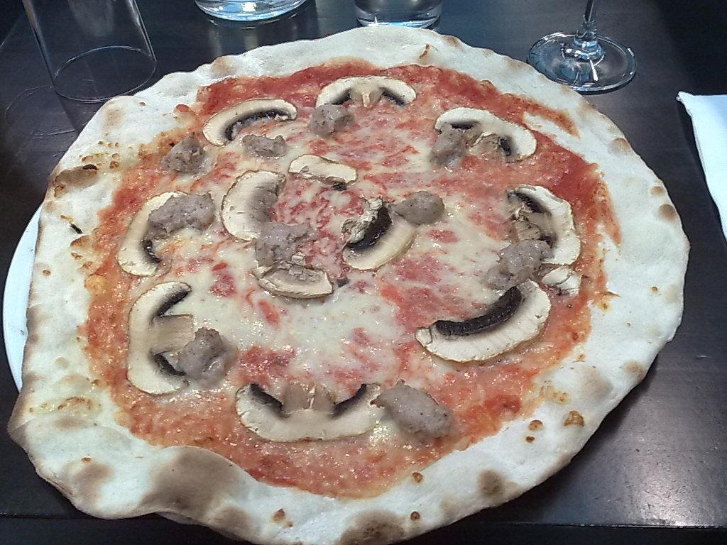 Il Duetto, Helsinki: Pizza Boscaiola