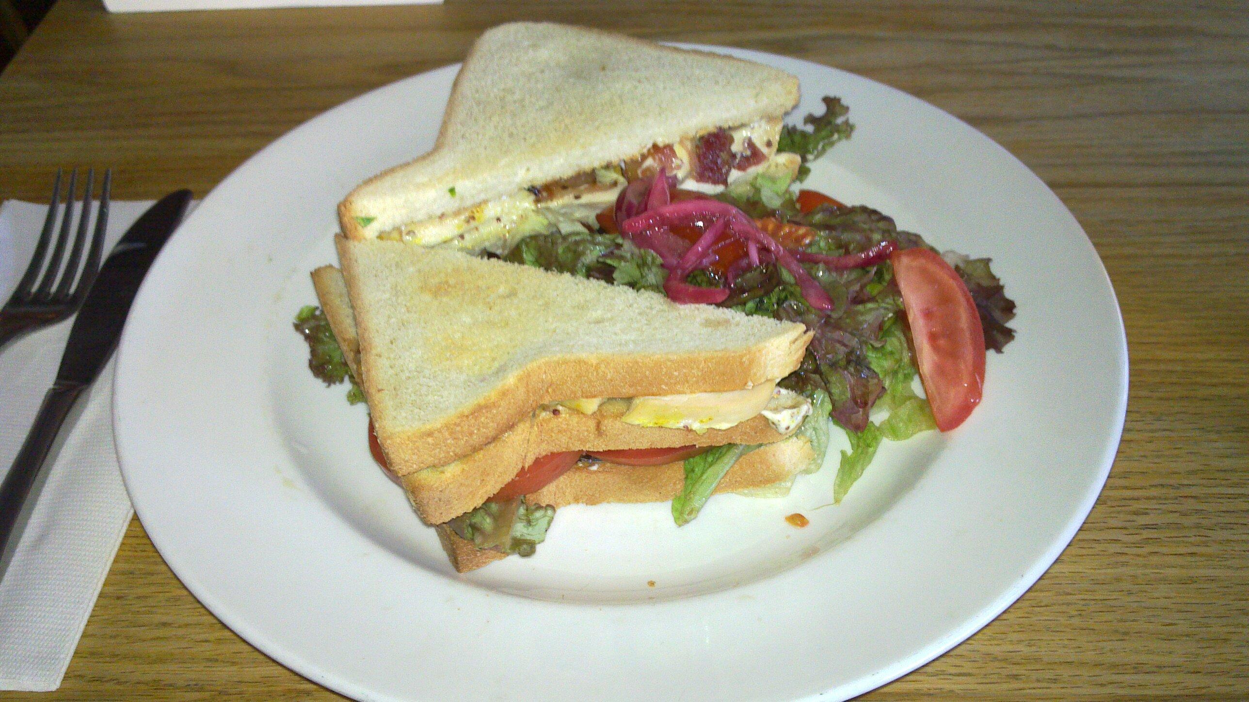 Ravintola Nolla, Helsinki: Club Sandwich
