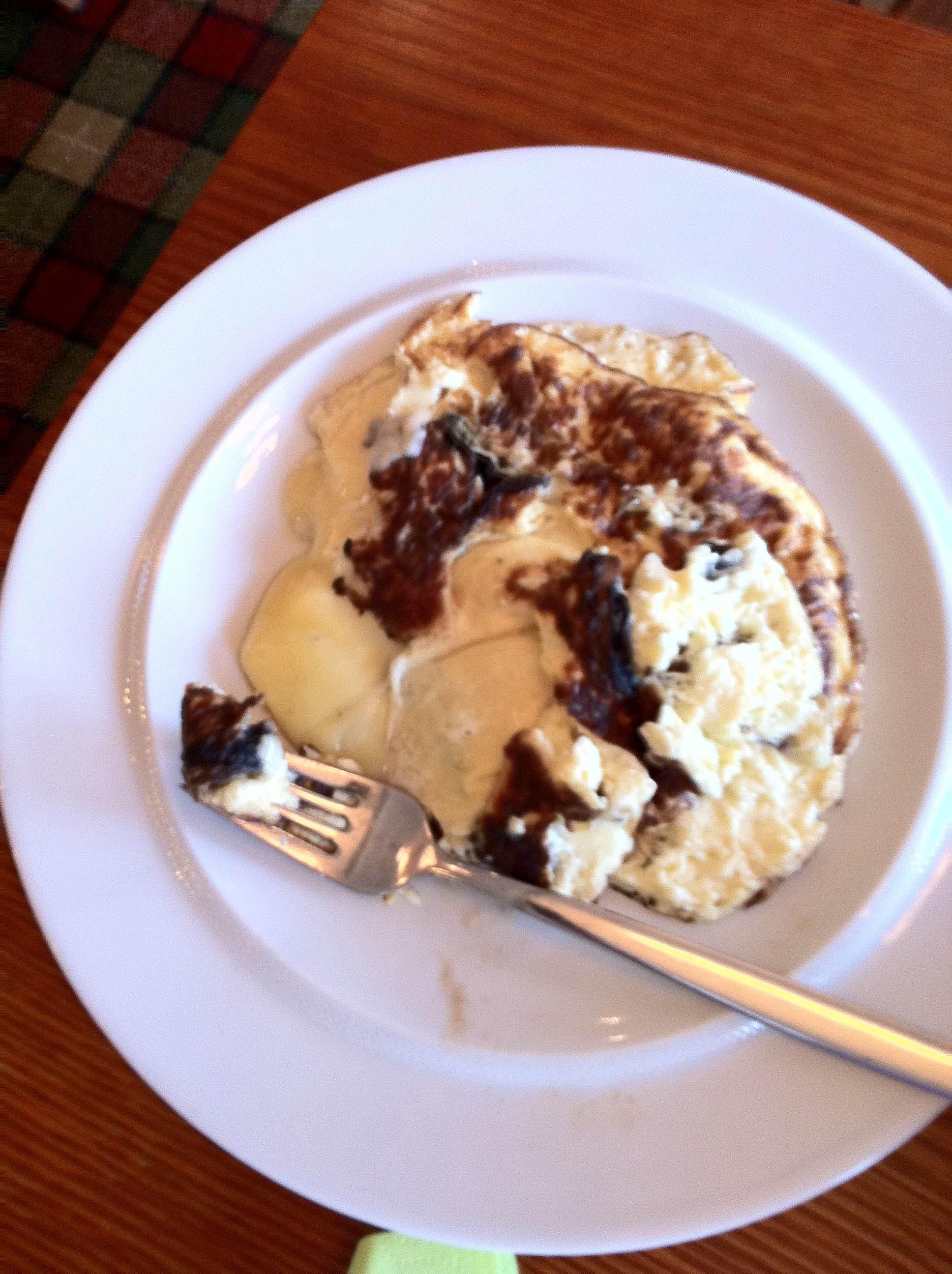 Verde, Helsinki: Omeletti kertoo kokin taidoista paljon.
