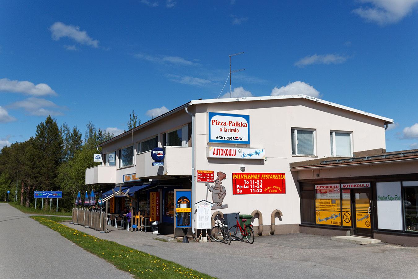 Pizza-Paikka a'la riesto, Sodankylä