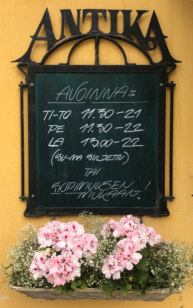 Ravintola Antika, Tampere