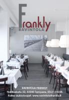 Ravintola Frankly, Tampere