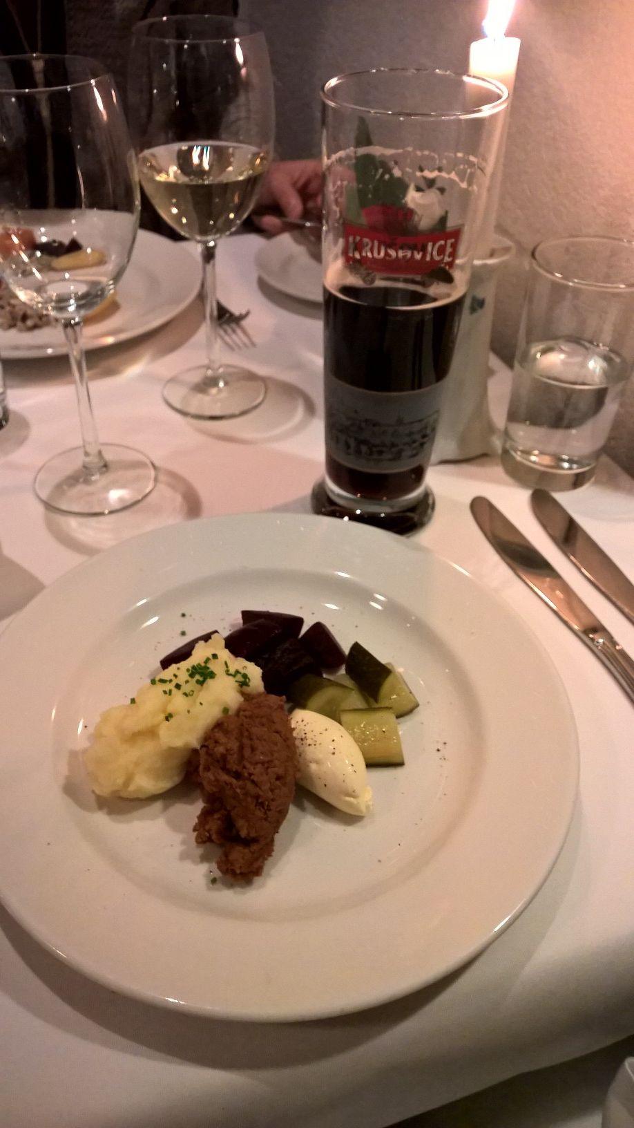 Ravintola Heinätori, Tampere: Vorschmack ja sopiva juoma