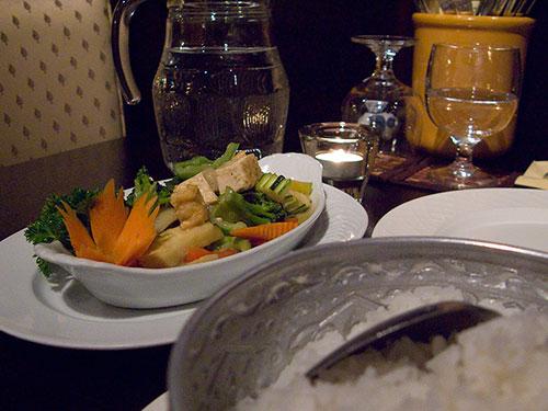 Ravintola Thai & Laos, Tampere: Khaang Khiou Waan Phak Ruam