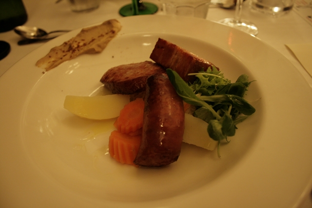 Wistub Alsace, Tampere: Sausages and smoked pork