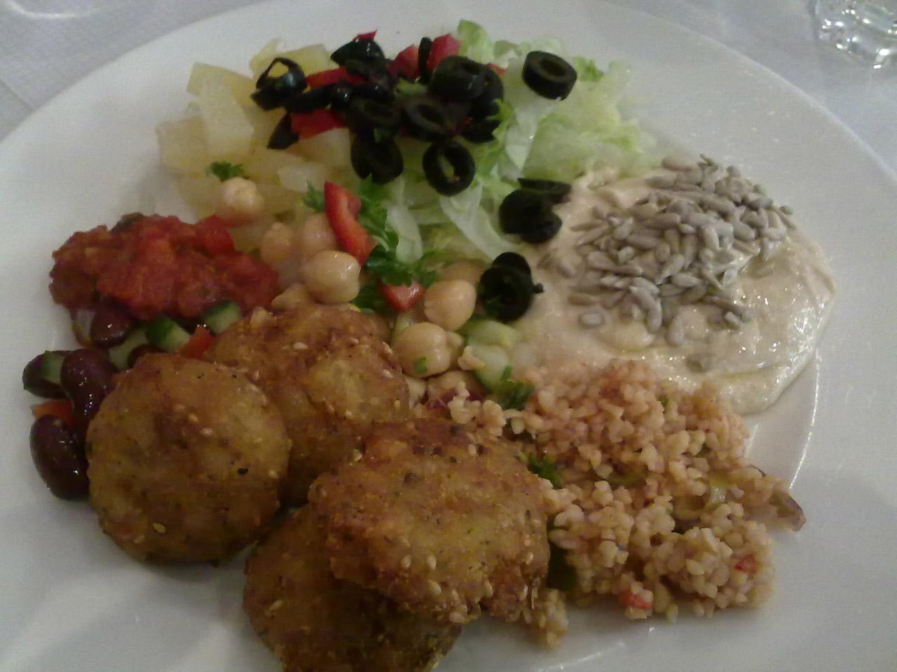 Pasha's Restaurant, Helsingfors: Lounasbuffet