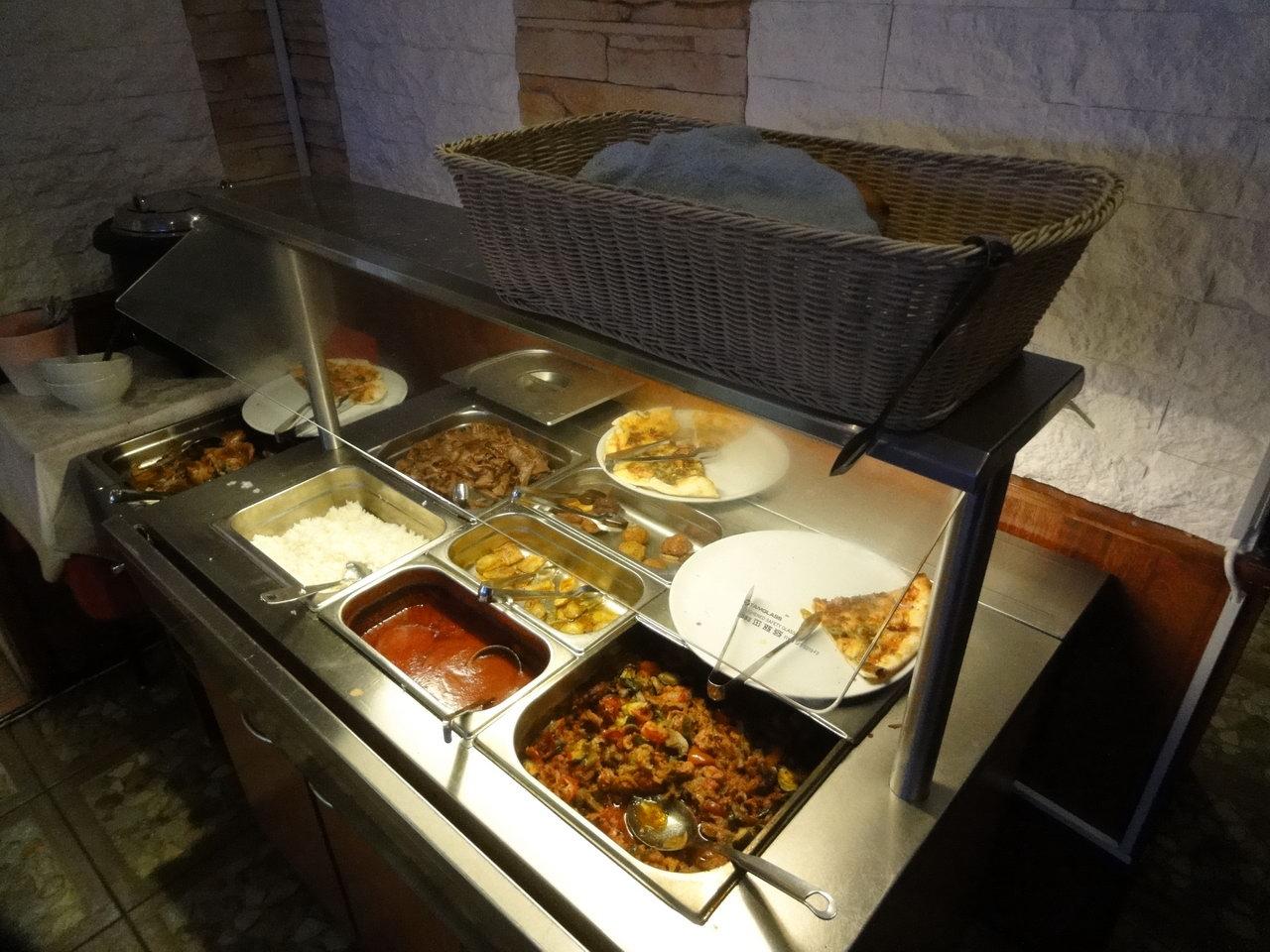 Pasha's Restaurant, Helsinki: pääruokia
