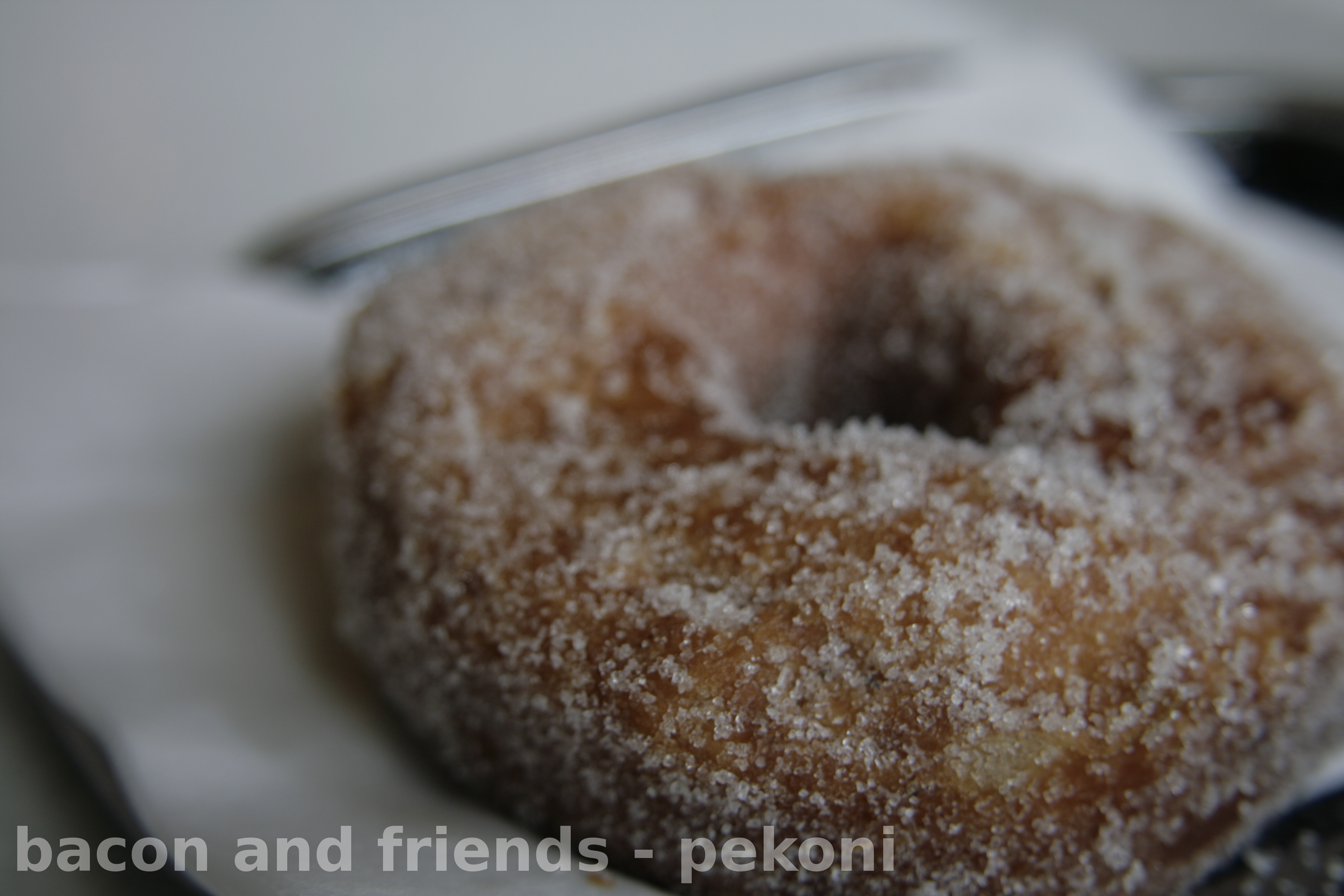 Pyynikin näkötornin kahvila, Tampere: Sugared doughnut