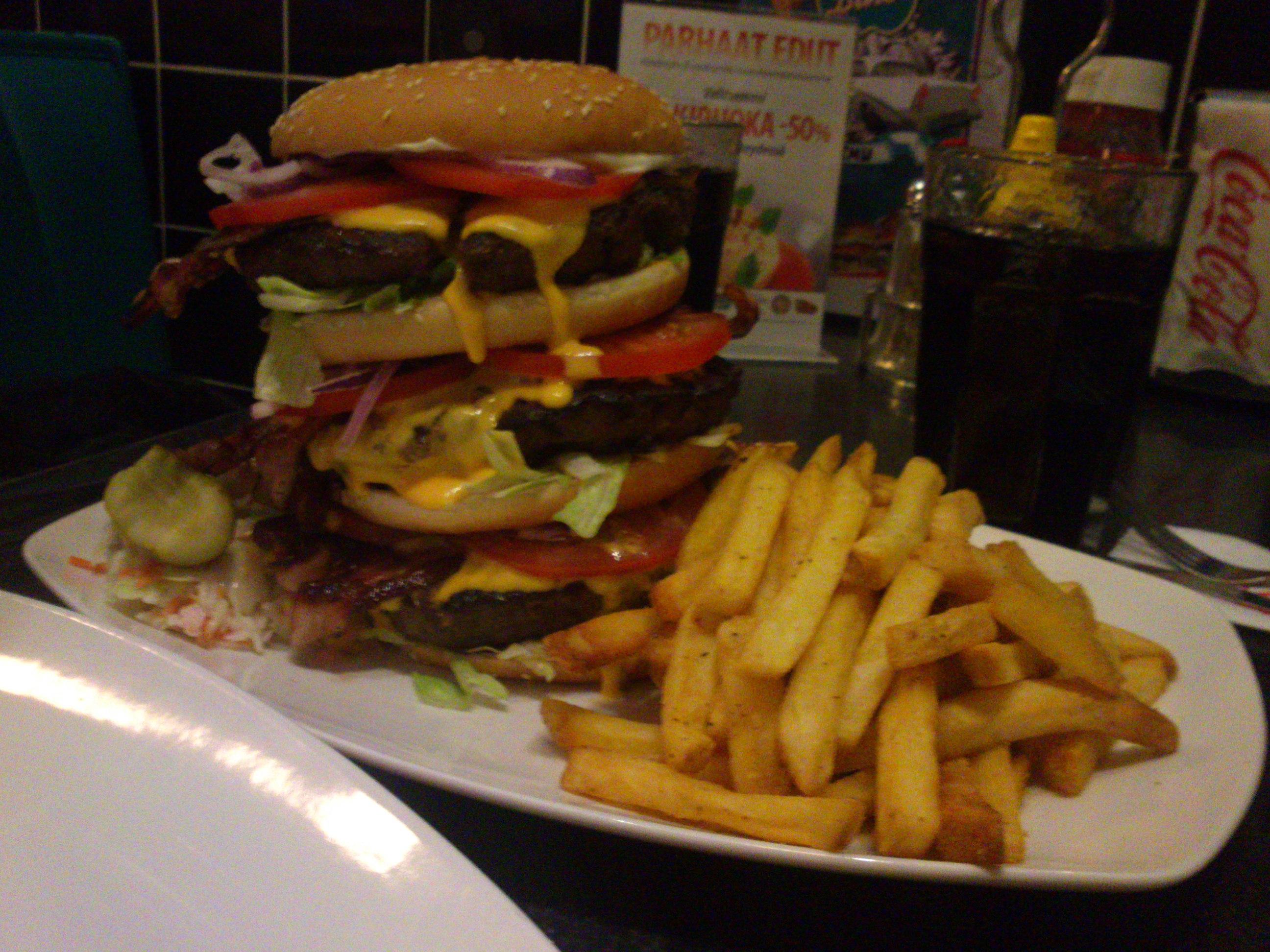American Diner, Tampere: Big tower