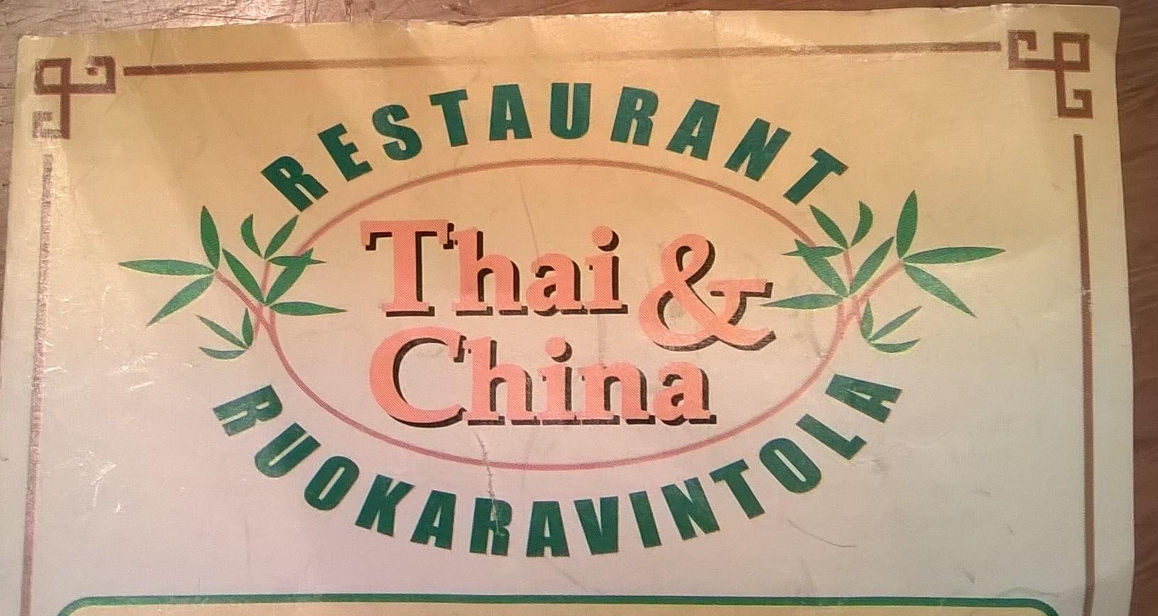 Ravintola Thai-China, Helsinki