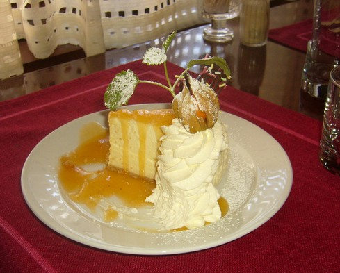 Ravintola Trappi, Naantali: Valkosuklaakakku