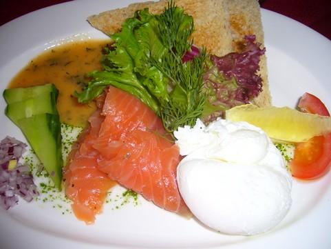 Ravintola Trappi, Naantali: Graavilohta uppomunalla