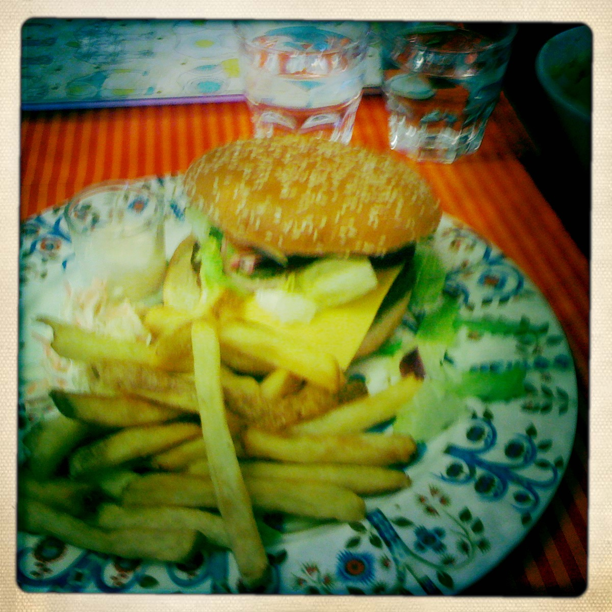 Dylan, Helsinki: Cheese Burger