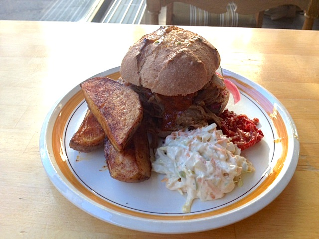 Kitch, Helsinki: Pulled Pork Burger