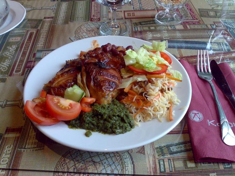 Kabul, Tampere: Buffet lounas