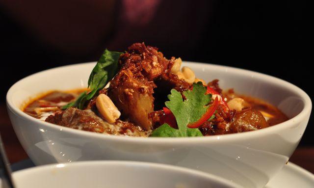 Farang, Helsinki: Mussaman curry.
