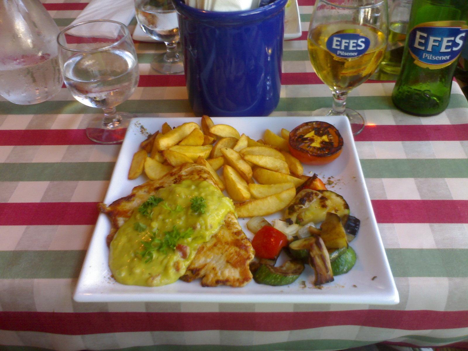 Amasra, Espoo: Pollo alla toscana