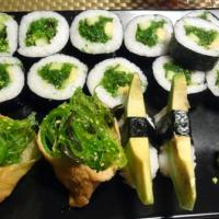 Asian Open Kitchen, Helsinki: Kasvis iso -sushilajitelma