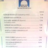 Falafel Kebab, Helsinki