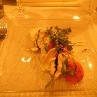 Tony's Deli, Helsinki: Buffalomozzarellaa, tomaattia, basilikaa & rucolaa