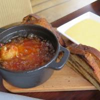 BossaNova Restaurant & Terrace, Tammisaari: Tiikerirapu pil pil (alkuruoka)