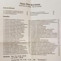 Siam-Thai, Kuopio