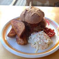 Kitch, Helsingfors: Pulled Pork Burger