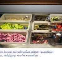 Salaatteja on ituja myöden